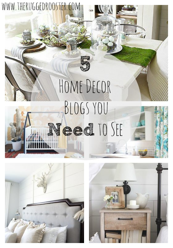 5 Home Décor Blogs You Need to See