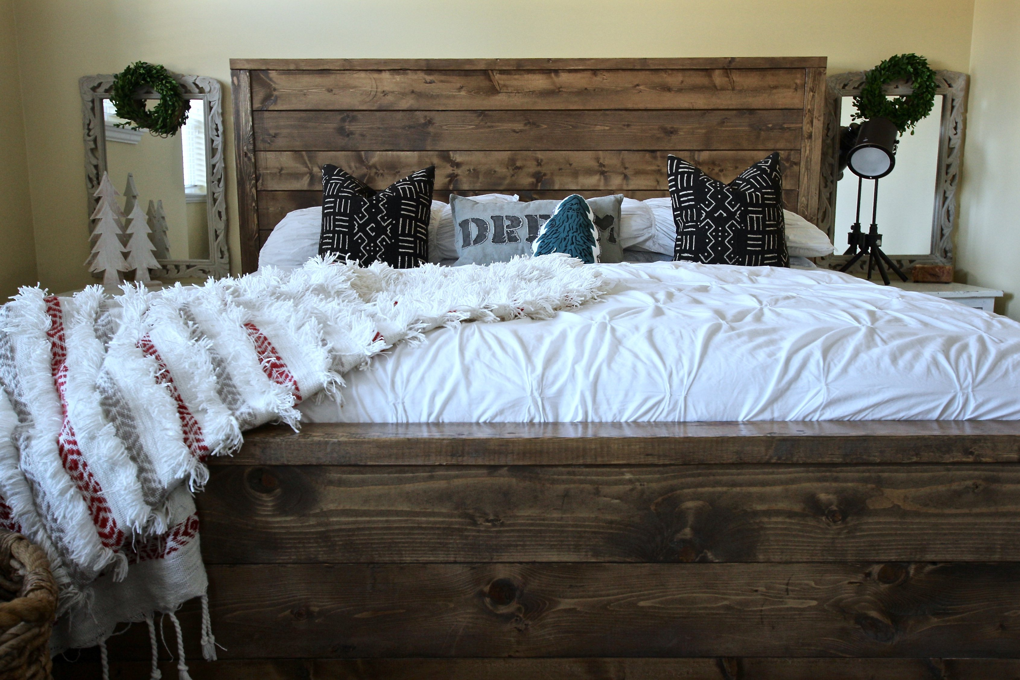 Rustic Modern Bed