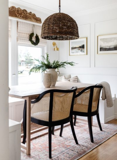 How to Build a Modern Oak Dining Table