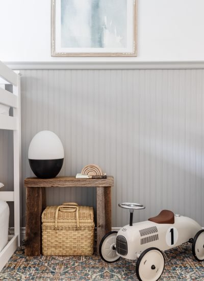 Simple Wainscotting That Will Make a Statement