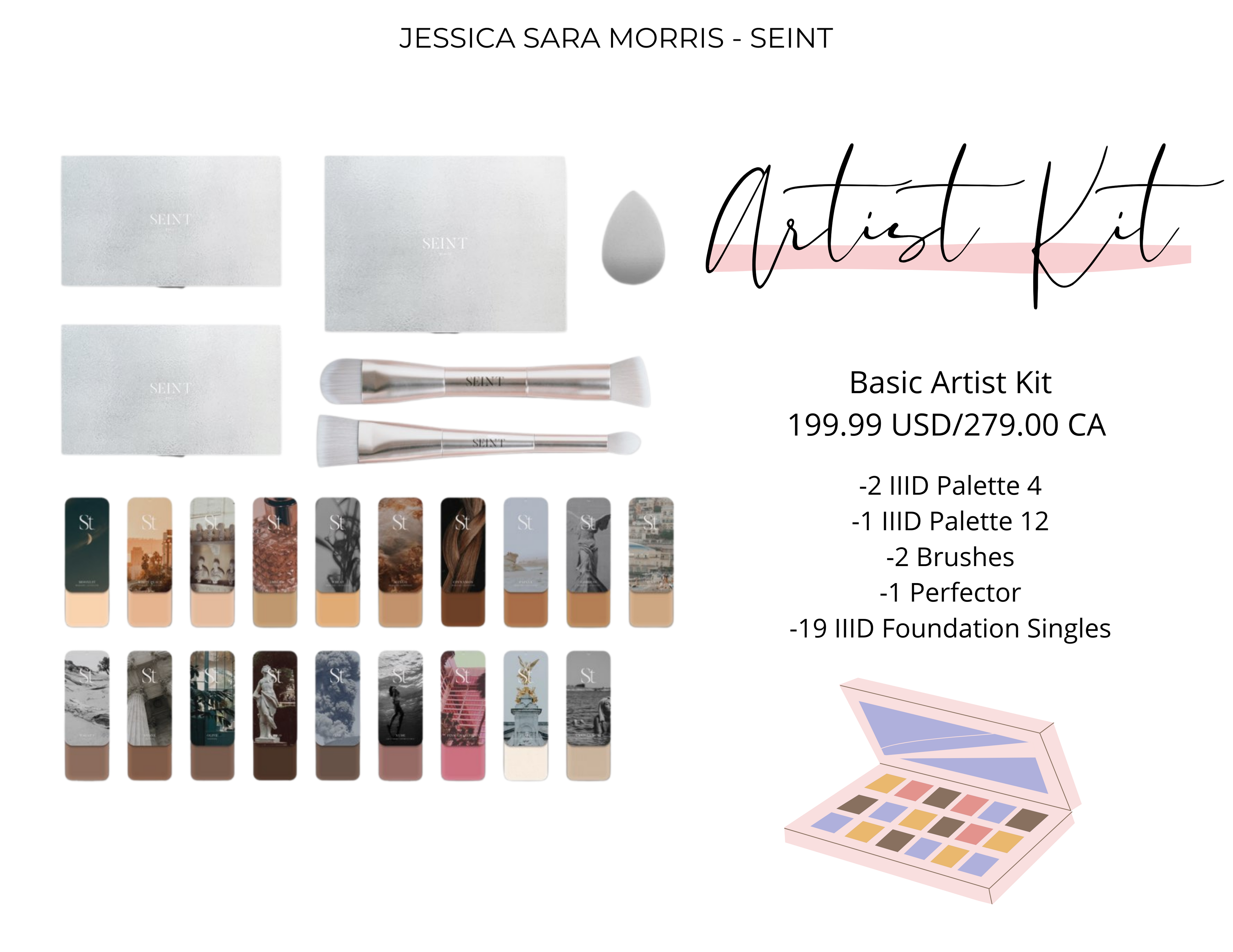Become a Saint Artist. Seint makeup, formerly known as Maskcara, is effortless 3D makeup that is made to enhance your natural beauty