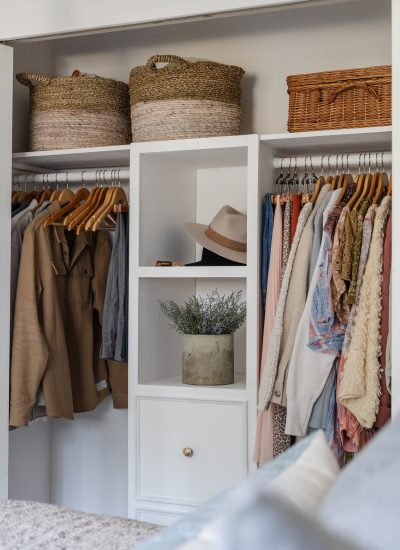 DIY Built-In Closet Storage