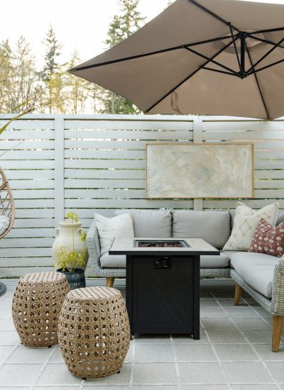 Coastal Deck Makeover